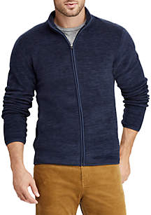 Fleece Mock Neck
