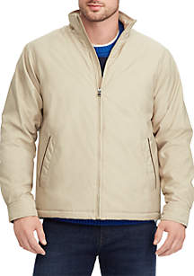 Full-Zip Mock Neck Jacket