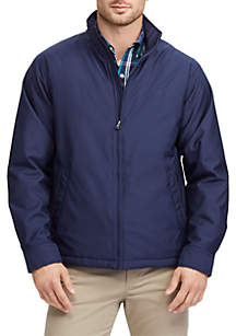 Full-Zip Mockneck Jacket