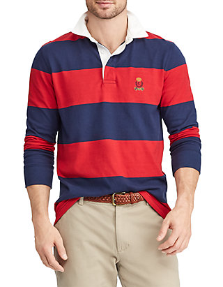 094a1148ecf Chaps Heritage Collection Striped Rugby Shirt | belk