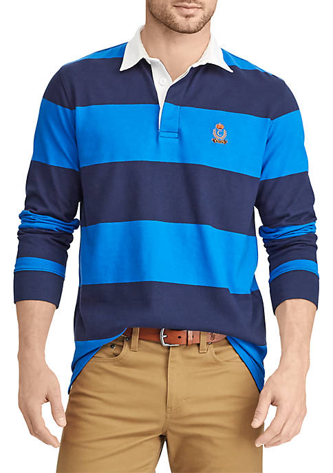 Chaps Heritage Collection Striped Rugby Shirt