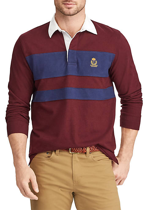 Chaps Heritage Collection Color-Blocked Rugby Shirt