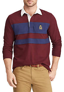 Heritage Collection Color-Blocked Rugby Shirt