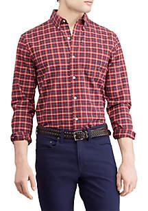 Stretch Oxford Button-Down Shirt
