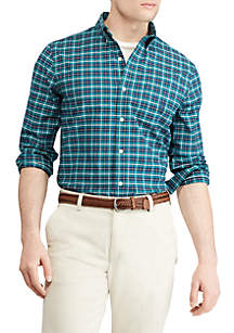 Chaps Men's Stretch Oxford Button-Down Shirt