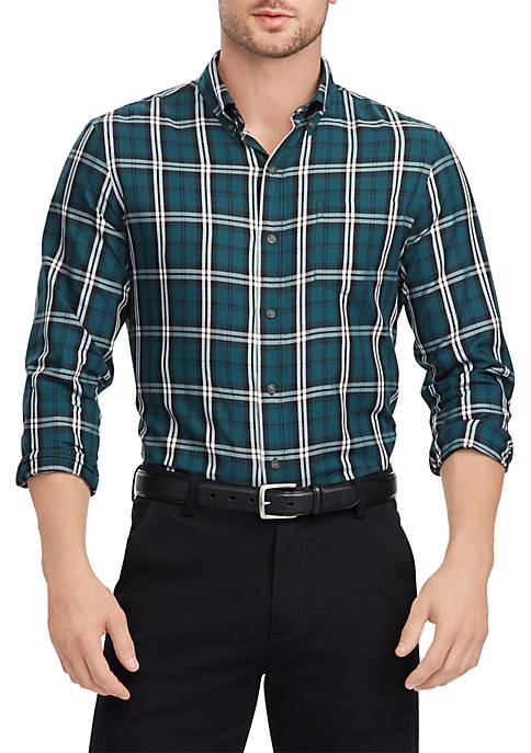 Chaps Mens Easy Care Long Sleeve Shirt