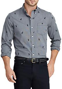 Men's Cotton-Blend Shirt