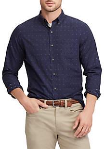 Chaps Men's Easy Care Long Sleeve Shirt