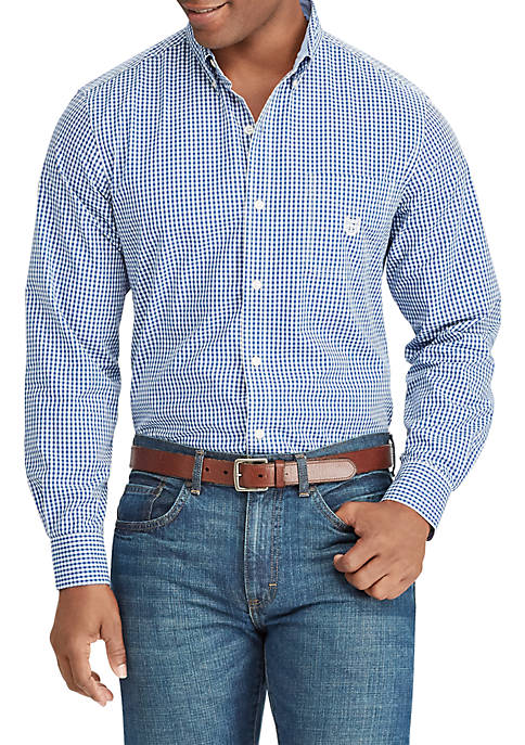 Chaps Regular Fit Easy Care Button Down Shirt