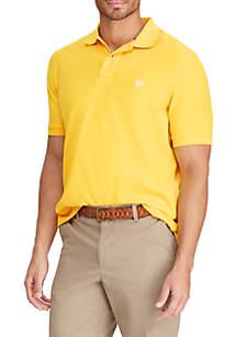 Chaps Short Sleeve Pique Polo