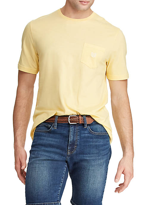 Chaps Cotton Crew Neck T Shirt