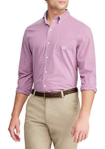 Chaps Long Sleeve Stretch Easy Care Button Down Shirt