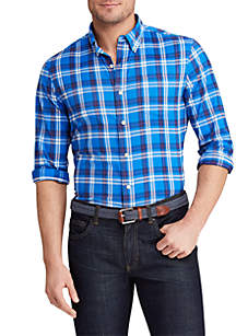 Chaps Long Sleeve Performance Button Down Shirt