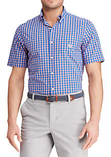 f279d0719 ... Chaps Short Sleeve Easy Care Button Down Shirt