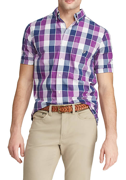 Chaps Classic Fit Easy Care Button Down Shirt