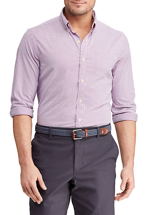 Chaps Long Sleeve Performance Button Down Shirt
