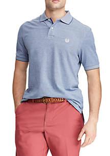 Chaps Short Sleeve Birdseye Polo