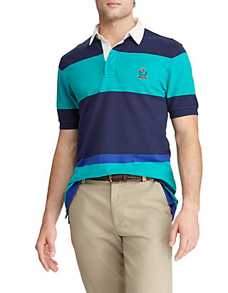 20837c98c34 Chaps Heritage Collection Color Blocked Rugby Shirt | belk