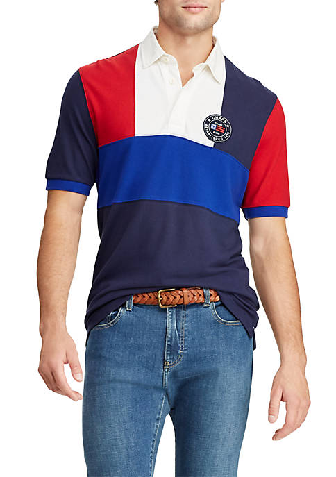 Chaps Short Sleeve Heritage Polo Shirt