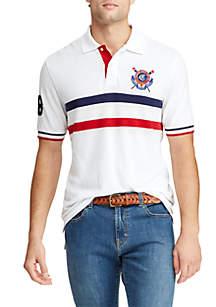 Chaps Short Sleeve Heritage Polo Shirt