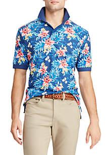 Chaps Short Sleeve Printed Polo Shirt