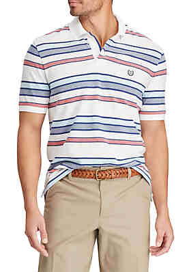 cbceed78 Chaps Short Sleeve Cotton Polo Shirt ...