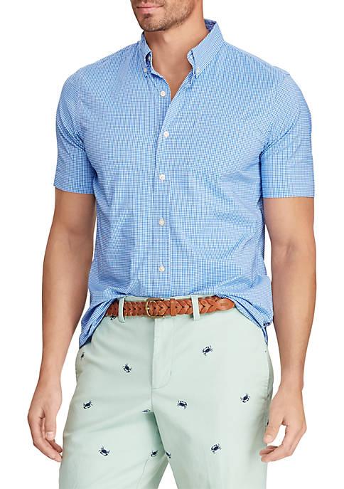 Short Sleeve Performance Woven Shirt