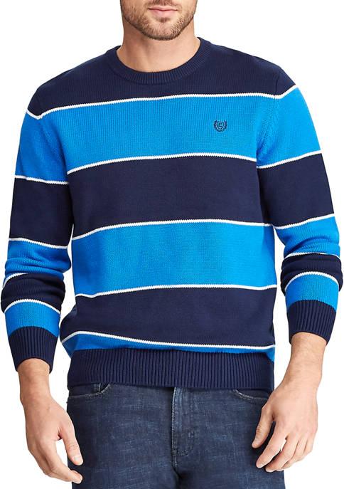Chaps Mens Cotton Crew Neck Sweater