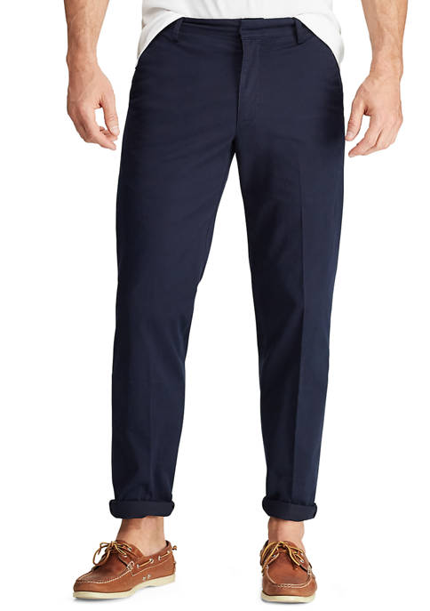 Chaps Mens Performance Navy Pants