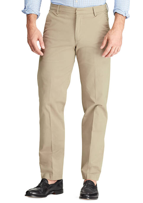 Chaps Mens Performance Pants in Beige