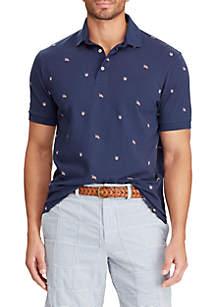Chaps Short Sleeve Cotton Polo Shirt