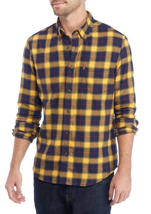 Chaps Mens Plaid Flannel Shirt