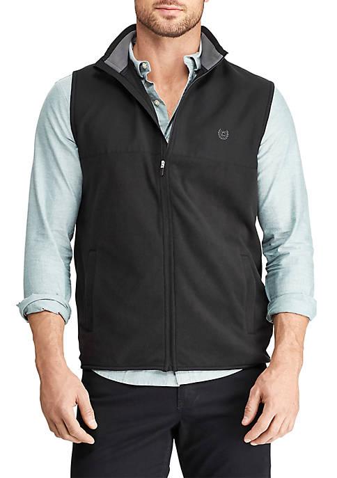 Chaps Mens Full Zip Fleece Vest