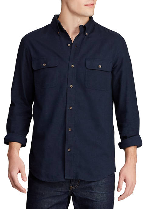 Chaps Mens Go Untucked Work Shirt
