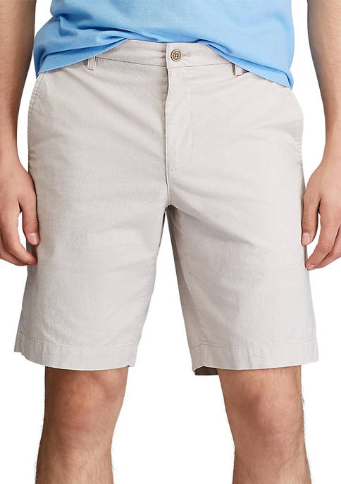 Chaps Stretch Micro Houndstooth Flat Front Shorts