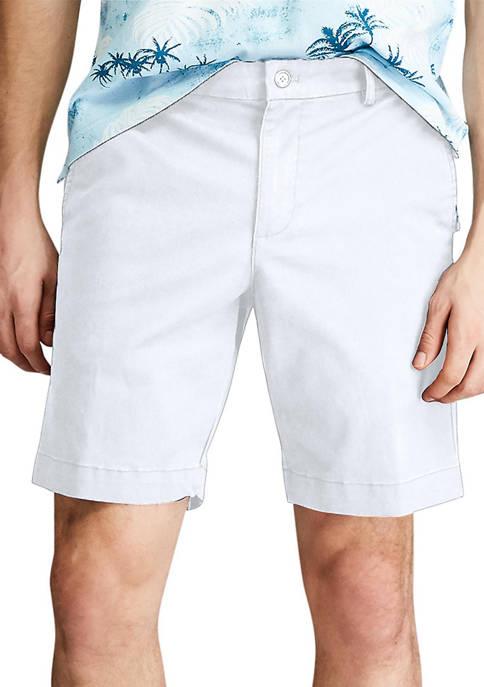 Chaps Coastland Stretch Twill Flat Front Shorts