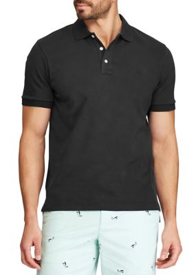 Chaps Mens Classic Fit Interlock Polo T-Shirt