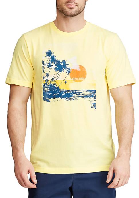 Chaps Short Sleeve Graphic T-Shirt