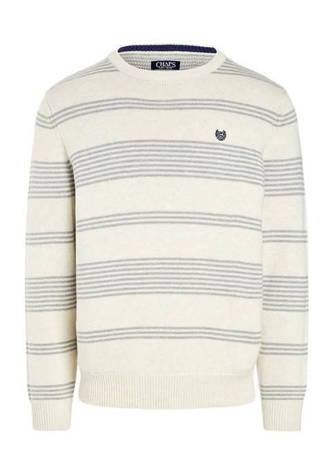 Belk: Chaps Cotton Crewneck Sweater $15.00