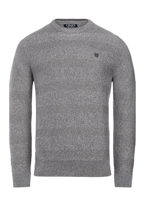 Chaps Solid Crew Neck Sweater