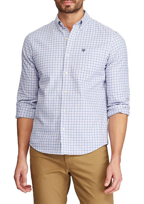 Stretch Oxford Button Down Shirt