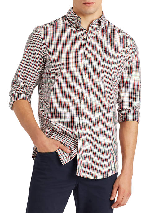 Chaps Stretch Easy Care Button Down Shirt