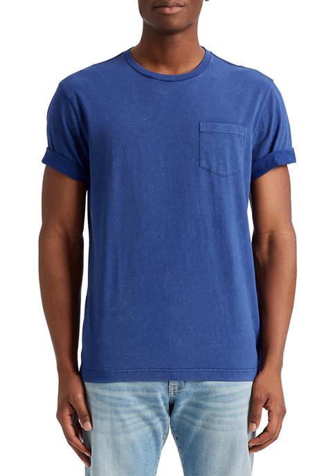 Chaps Short Sleeve Crew Neck Cotton Jersey T-Shirt