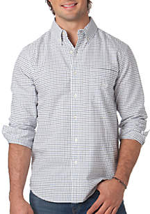 Big & Tall Tattersall Oxford Shirt