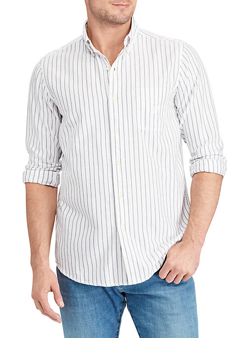 Chaps Big & Tall Cotton Oxford Shirt