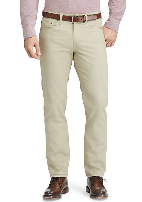 Chaps Big & Tall Straight Fit 5-Pocket Pants