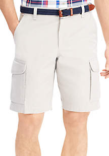 Big & Tall Cotton Cargo Shorts
