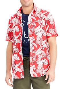 Big & Tall Print Cotton Shirt