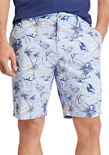 Big & Tall Print Cotton Shorts