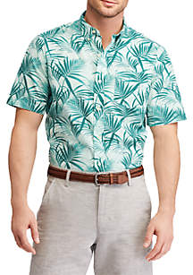 Big & Tall Print Short-Sleeve Shirt